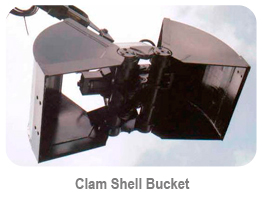 Clam Shell Bucket